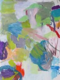 Une forêt oblique - acrylique 116*81