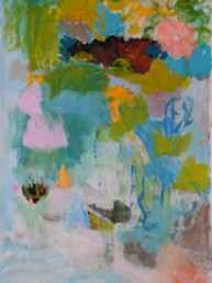 Ciel de fleurs - acrylique 146*114