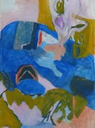 Un rêve qui retient les pensées - acrylique - 146*97