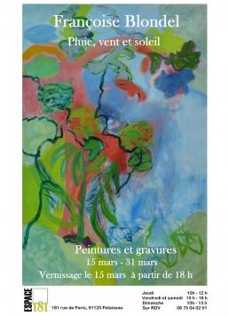exposition Palaiseau mars 2019 affiche
